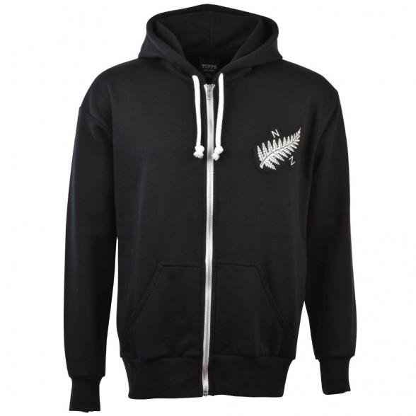 Sweat à capuche Vintage Rugby Nouvelle-Zélande 1924