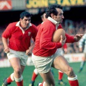 Maillot de rugby Pays de Galles années 70