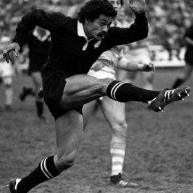 Maillot Rugby vintage Nouvelle-Zélande années 80