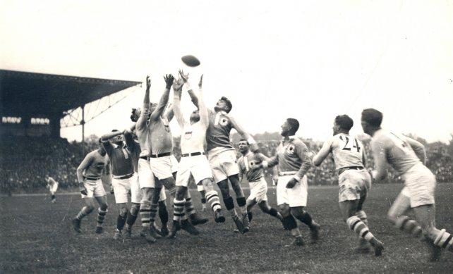 Final Rugby Juegos Olímpicos 1924