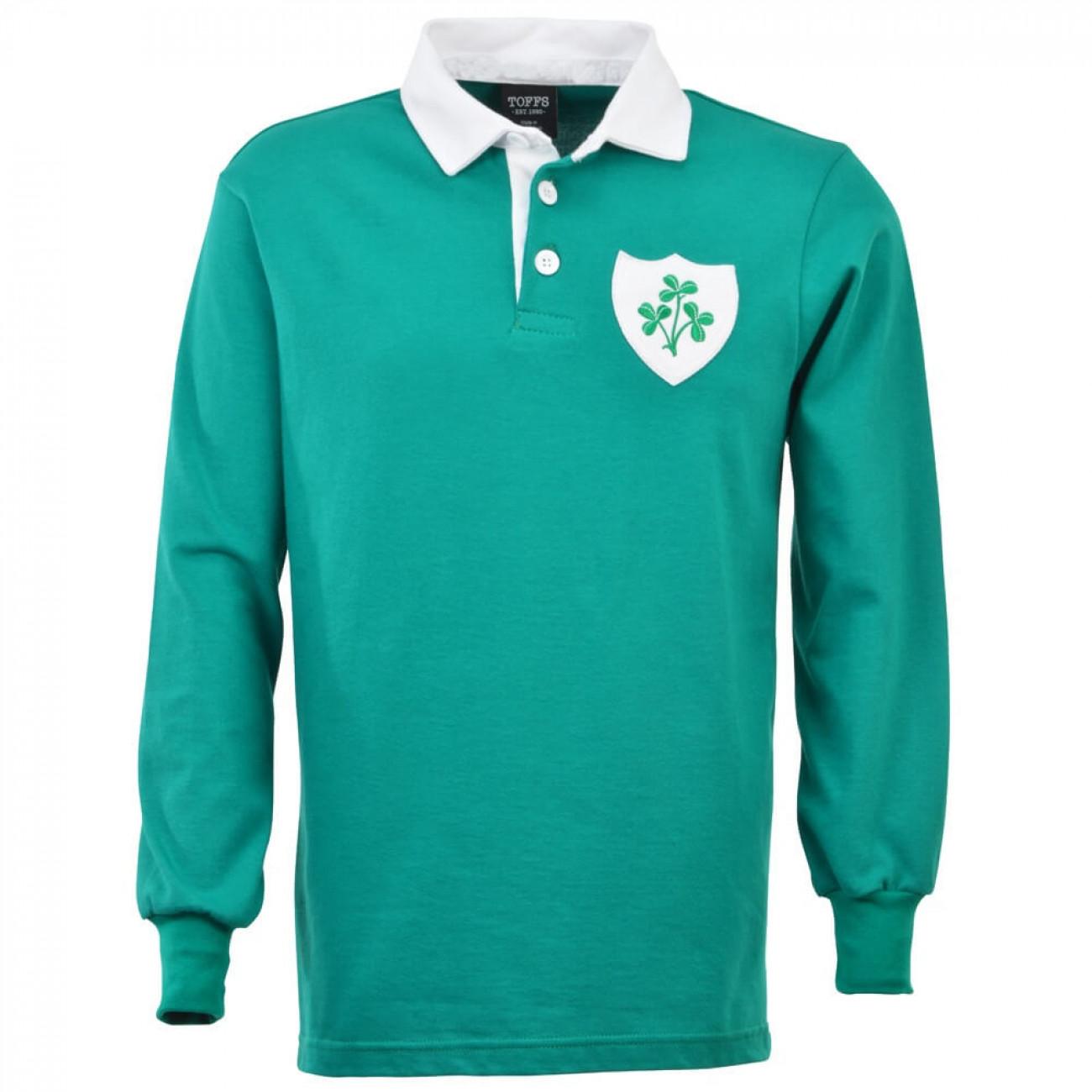 Polo de rugby rétro d'Irlande